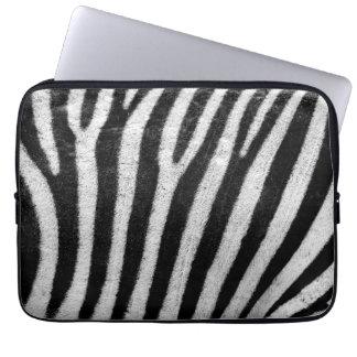 Capa Para Laptop Impressão da pele da zebra
