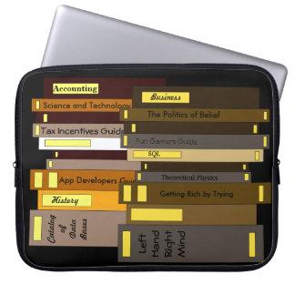 Capa Para Laptop Leitura de aprendizagem académico da educação dos