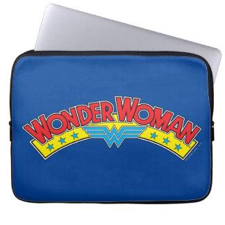 Capa Para Laptop Logotipo 1987 da banda desenhada da mulher