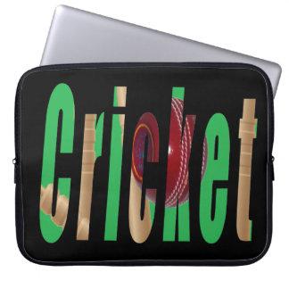 Capa Para Laptop Logotipo do jogo do grilo, a bolsa de laptop de 15