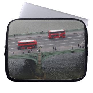 Capa Para Laptop Londres transporta a bolsa de laptop do neopreno