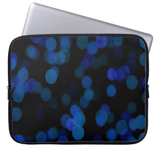 Capa Para Laptop Lua azul romântica a bolsa de laptop de 15