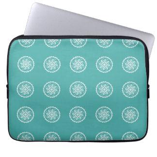 Capa Para Laptop Mandala Spruce azul