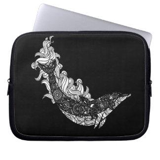 Capa Para Laptop Natação do golfinho