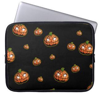 Capa Para Laptop O Dia das Bruxas feliz