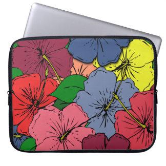 Capa Para Laptop O hibiscus floresce #8