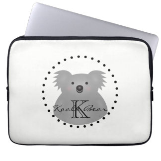 Capa Para Laptop O urso de Koala australiano bonito adiciona seu