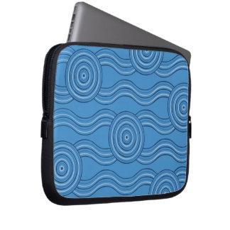 Capa Para Laptop Oceano aborígene da arte