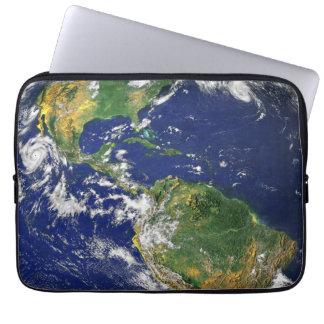 Capa Para Laptop Os Americas, como visto do espaço