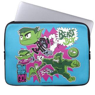 Capa Para Laptop Os titã adolescentes vão! menino Shapeshifts do