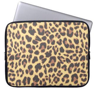 Capa Para Laptop Padrões da pele animal do impressão do leopardo