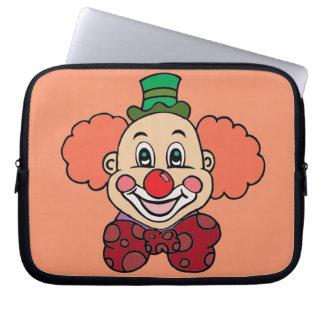 Capa Para Laptop Palhaço feliz da cara