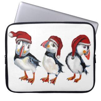 Capa Para Laptop Papagaio-do-mar do Natal