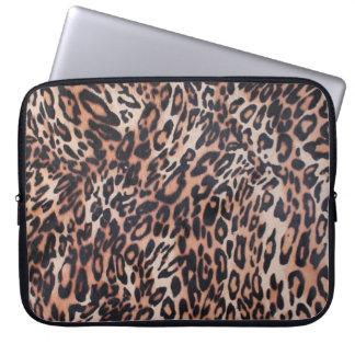 Capa Para Laptop Pele do leopardo