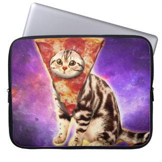 Capa Para Laptop Pizza do gato - espaço do gato - memes do gato