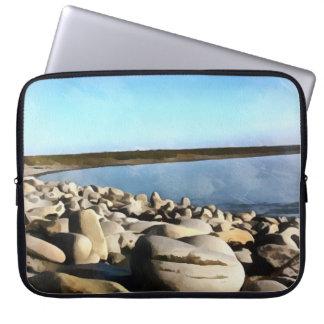 Capa Para Laptop Praia irlandesa