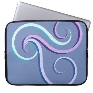 Capa Para Laptop Redemoinho da Tri Cor