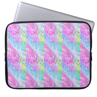 Capa Para Laptop Saco metálico colorido dos eletrônicos do laptop