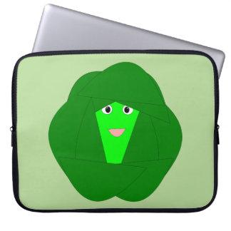 Capa Para Laptop Saco Smelly do laptop da couve de Bruxelas do