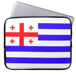 Capa Para Laptop Símbolo Geórgia da bandeira da república de Ajaria