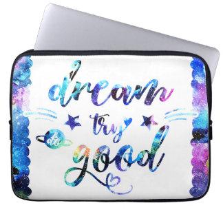 Capa Para Laptop Sonho. Tentativa. Faça bom