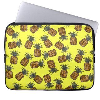 Capa Para Laptop teste padrão tropical pintado mão colorido do