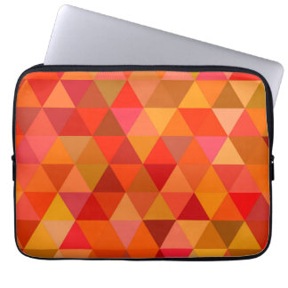 Capa Para Laptop Triângulos quentes do sol