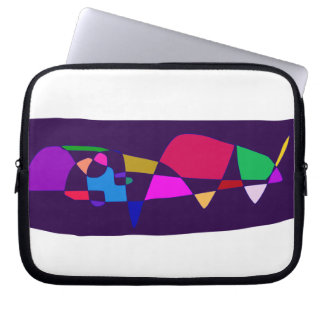 Capa Para Laptop Uma baleia no mar profundo