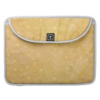 Capa Para MacBook A folha de ouro na moda Stars a aguarela