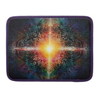 Capa Para MacBook A mandala do coração H103 colore 3