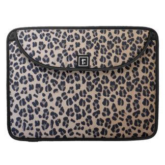 Capa Para MacBook Abstrato na moda do impressão do leopardo, luva de