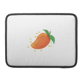 Capa Para MacBook Aguarela suculenta da fruta da manga