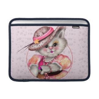 """Capa Para MacBook Air Ar 13"""" da SENHORA CAT BONITO DESENHOS ANIMADOS"""