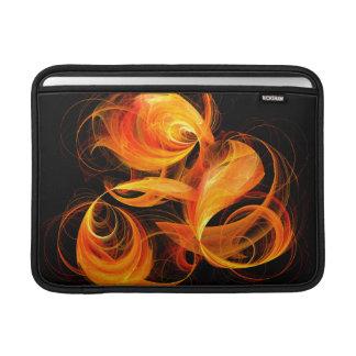 Capa Para MacBook Air Ar de Macbook da arte abstracta da bola de fogo