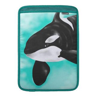Capa Para MacBook Air Baleia bonito da orca