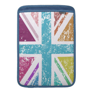 Capa Para MacBook Air Bandeira de união afligida colorido
