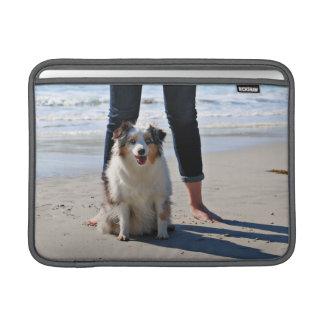 Capa Para MacBook Air Bennett - mini australiano - Rosie - praia de