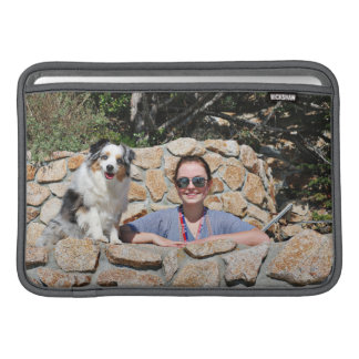 Capa Para MacBook Air Bennett - mini australiano - Rosie - praia de