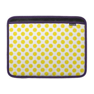 Capa Para MacBook Air Bolinhas amarelas