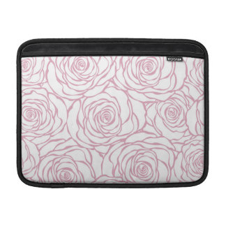 Capa Para MacBook Air bonito, floral.pink, branco, peônias, femininos,