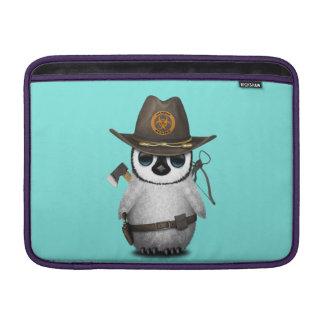Capa Para MacBook Air Caçador do zombi do pinguim do bebê