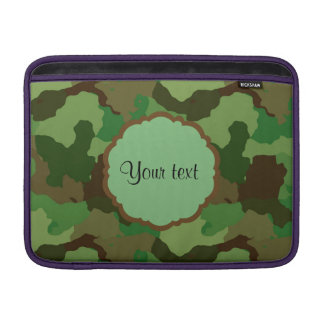 Capa Para MacBook Air Camuflagem