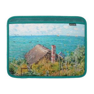 Capa Para MacBook Air Claude Monet a cabine em belas artes do