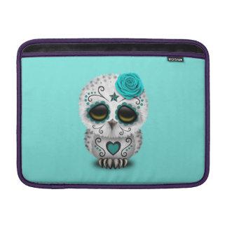 Capa Para MacBook Air Dia azul da coruja inoperante do bebê