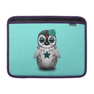 Capa Para MacBook Air Dia azul do pinguim inoperante do bebê