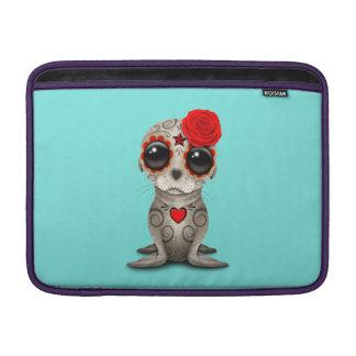 Capa Para MacBook Air Dia vermelho do leão de mar inoperante do bebê