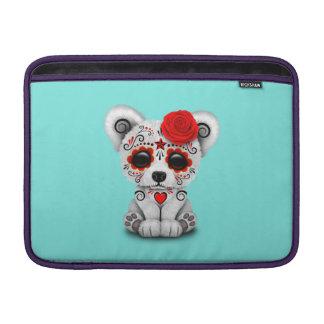 Capa Para MacBook Air Dia vermelho do urso polar do bebê inoperante