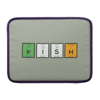 Capa Para MacBook Air Elementos químicos irlandeses Zy4ra