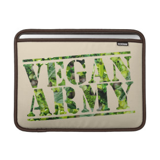 CAPA PARA MacBook AIR EXÉRCITO DO VEGAN