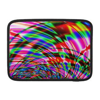 Capa Para MacBook Air Fractal colorido da água